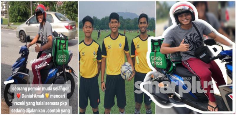 Penyerang muda Selangor bawa Grab ketika PKP
