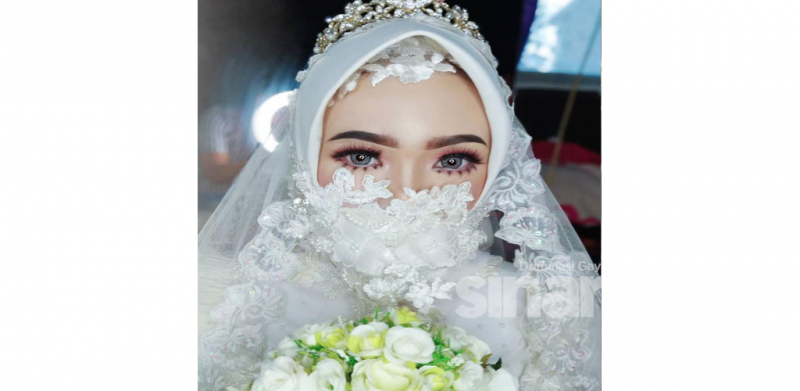 6 gaya unik topeng muka untuk bakal pengantin