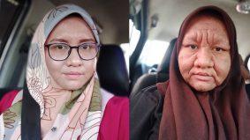 Selepas bersalin anak ketiga, wajah kembali muda