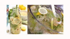 Cara mudah buat Air Soda Herbs yang menyegarkan