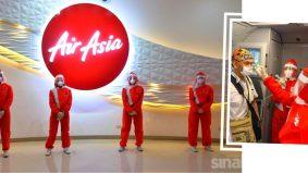 Kreatifnya…uniform kru AirAsia Filipina ala pemandu FI