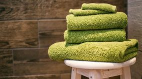 Bila perlu cuci tuala?