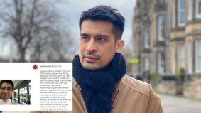 Ashraf Muslim Positif Covid-19