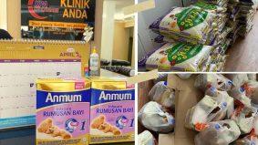 PKP: 'Kami tahu bagaimana rasanya tiada' – Klinik sedia barang dapur, susu formula percuma