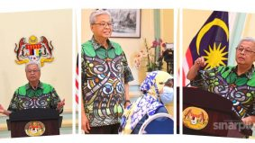 Warga net puji baju batik moden kontemporari Ismail Sabri