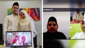 Bukan gelojoh nak kawin… Jawapan pemuda terpaksa nikah online ini memang win