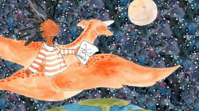 Engkau Adiwiraku, buku cerita kanak-kanak berhadapan Covid-19