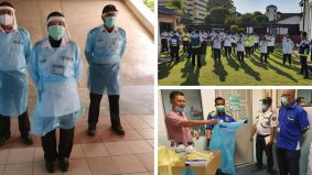 Pengawal keselamatan hospital tidak dilupakan, terima PPE, 'elaun Covid'