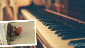 Abang Rider main piano bukan calang-calang rupanya…