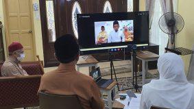 Pasangan pertama nikah online, satukan Don Haadi dan Nahdatul