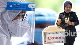 Canon tampil bantu frontliners jaga keselamatan