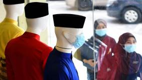 Cecair pembasmi kuman dan topeng muka senarai utama pembelian kelengkapan raya