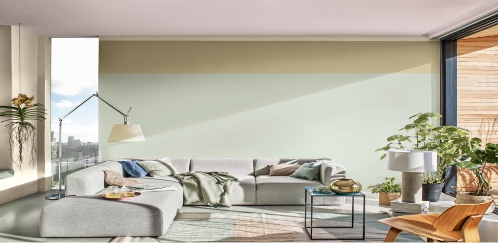 Tukar warna dinding rumah anda! Warna Tranquil Dawn pasti buat anda lebih tenang
