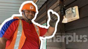 26 tahun tak merasai sambutan 1 syawal  demi memastikan bekalan elektrik tetap disalurkan