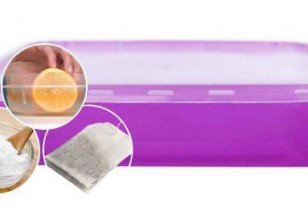Cara mudah hilangkan bau melekat dalam bekas makanan