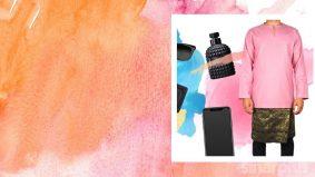 Baju Melayu, kurta warna pink? Apa salahnya…