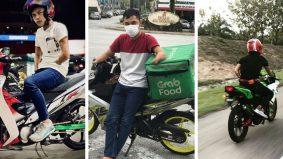 Tiada tapak tangan… pemuda ini tetap jadi rider penghantar makanan
