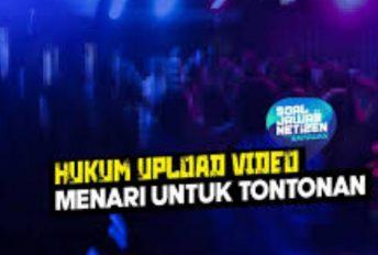 Upload video menari