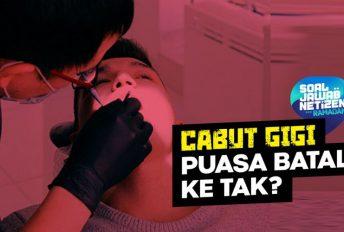 Cabut gigi ketika puasa