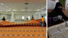 Wakaf karpet masjid atau jamu orang makan ketika Ramadan, mana lagi afdal?
