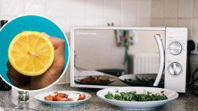 Hanya gunakan 2 bahan sahaja untuk bersih & wangikan microwave