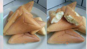 Bahulu gebu express guna sandwich maker je, bujang pun boleh!