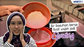 Petua dari rumah : Air basuhan beras buat wajah jadi glowing