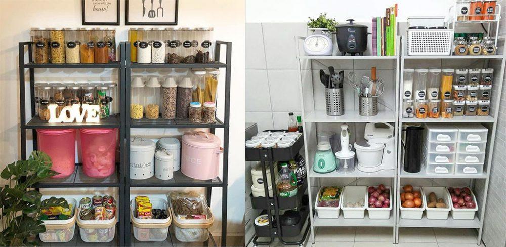 Idea Deko Raya Untuk Dapur Yang Sempit