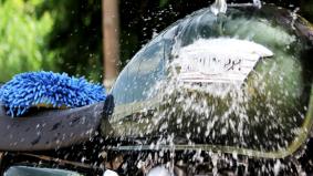 9 langkah mudah mencuci motosikal