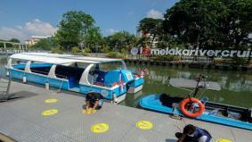 Melaka River Cruise kembali beroperasi, ikut SOP ditetapkan