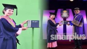 [VIDEO] Norma baharu majlis konvo UiTM, ambil skrol secara temu janji, guna skrin hijau