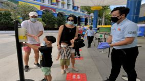 Dah boleh riadah dengan keluarga di Legoland janji patuhi SOP