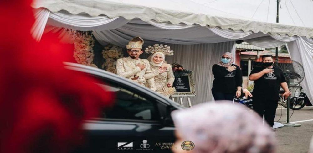 [VIDEO] Majlis perkahwinan 'drive thru' bukan lagi acah-acah