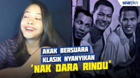 Akak bersuara klasik cover 'Nak Dara Rindu'