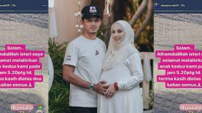 Mia Ahmad selamat bersalin anak kedua