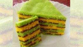 Mudahnya masak kek lapis sukatan cawan ni… patut ramai share