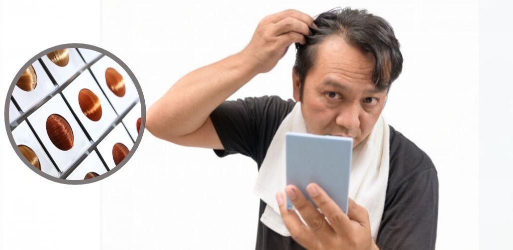 Warnakan rambut