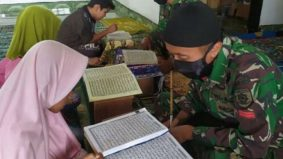 Kisah askar di sempadan bawa senjata, petang jadi guru ngaji