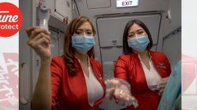 Moga tenang ketika terbang… Tune Protect perkenal AirAsia Travel Protection dilengkapi perlindungan Covid-19