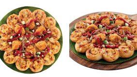 Piza Nasi Lemak dipenuhi ayam perap santan, limpahan keju. Padu menu Pizza Hut baru ni!