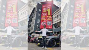 Bakal tutup butik, Wak Doyok lelong koleksi serendah RM1