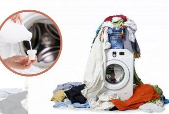 Campur cuci pakaian anak dan suami