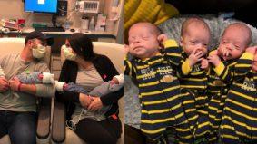 Pengalaman lahir bayi kembar empat semasa pandemik global
