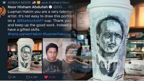 Dr Hisham puji lukisan Luqman, warganet berharap turut sama dapat memiliki…