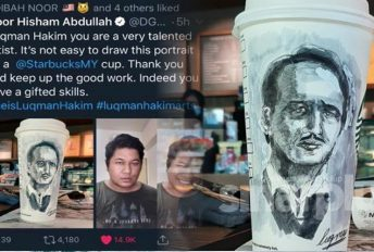 Dr Hisham puji lukisan Luqman, warganet berharap turut sama dapat memiliki