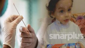 Swab test Covid-19 patah dalam hidung, punca kanak-kanak comel ini meninggal