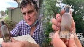 Lelaki jumpa objek misteri mengandungi rambut dan gigi, netizen desak kembalikan ke tempat asal