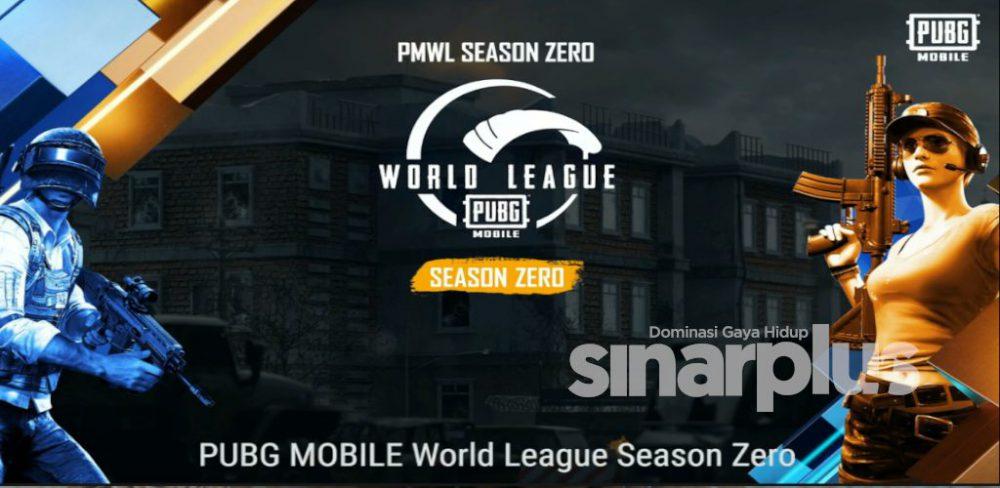 PUBG Mobile World League! Season Zero dah bermula, tampil dengan format dalam talian!
