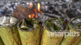Aidiladha : KEMUDI, penduduk kampung bakar 2,000 batang lemang patuh SOP