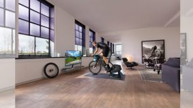 Basikal canggih khas atlet, penggemar kecergasan